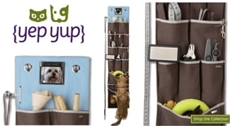Hanging Pet Accessory Organizer by Yep Yup