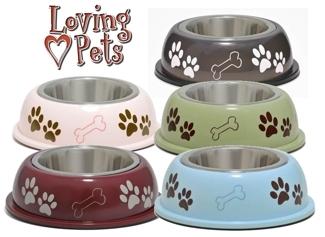 Dolce Dishes | Skid-free pet dishes from Loving Pets