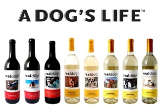 A Dog's Life | Real Dogs & Real Cats personalized wines