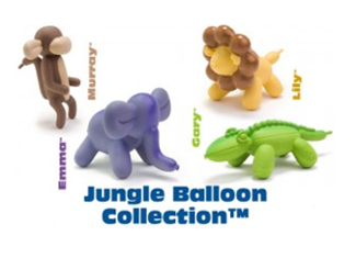 Charming Pet Jungle Balloon Collection