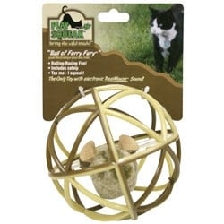 Play-N-Squeak Ball of Furry Fury Cat Toy $5.59