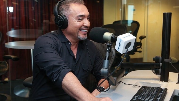 NEW YORK, NY - AUGUST 09: Cesar Millan visits at SiriusXM Studios on August 9, 2017 in New York City. (Photo by Rob Kim/Getty Images)