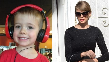 Taylor Swift Donates $10,000 To Autistic Boy's Fundraiser For A Therapy Dog