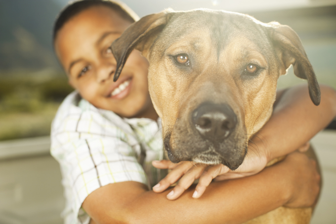Image result for kids with pets