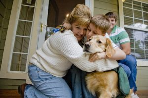 Dogs Reduce Stress For Families Of Children With Autism