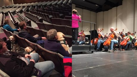 Puppies Training To Be Guide Dogs Get Special Performance By Reno Philharmonic